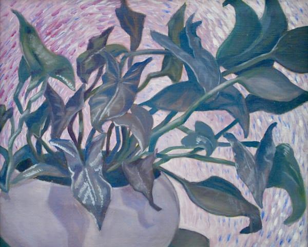 """""""Plant still life"""" - Original art oil painting"""