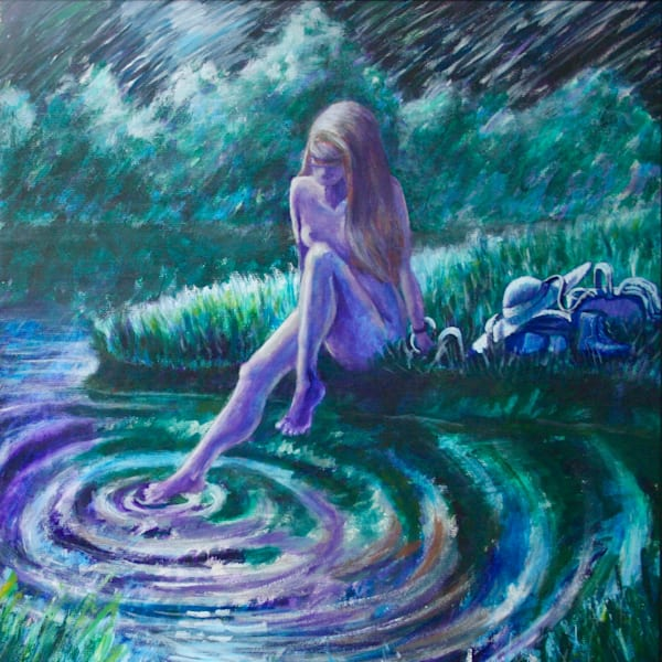 """Ripples""   Original Art Painting Art | J.E. Strohkorb Fine Arts"