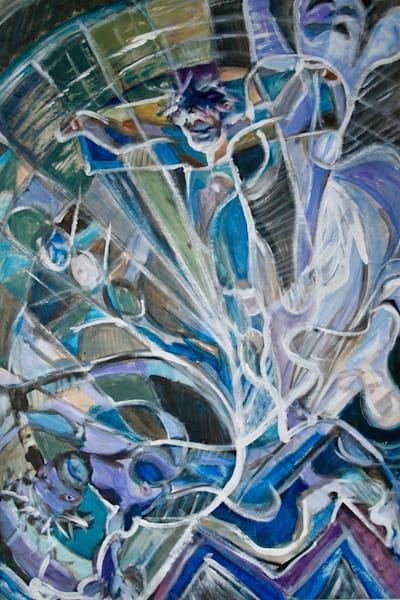 """Crux"" - Original art painting"