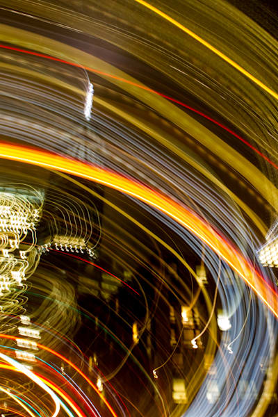 New York City at Night One World Motion Abstract