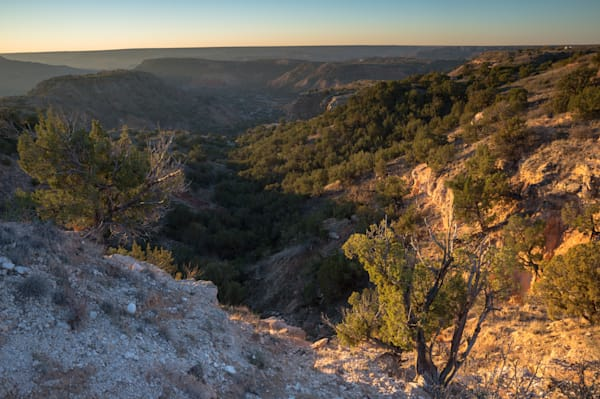 Sunrise At The Edge Of Palo Duro Canyon Photography Art | David N . Braun Photography