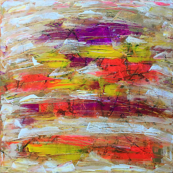 Hot For Teacher abstract painting