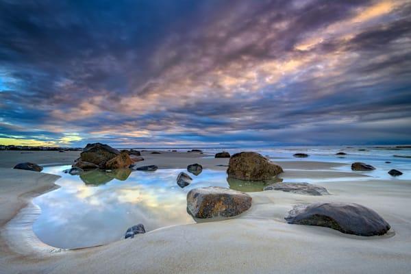 Autumn Sky at Wells Beach by Rick Berk