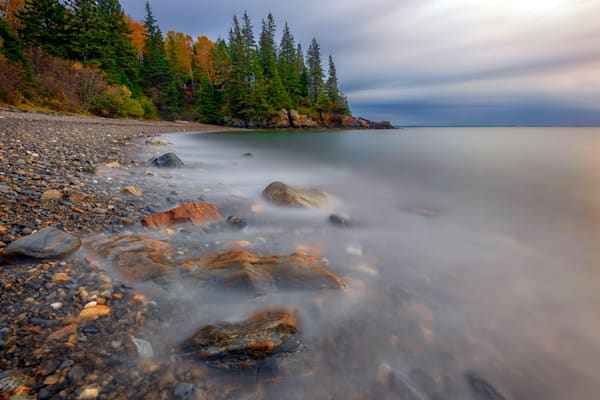 Clearing Storm at Owl's Head by Rick Berk