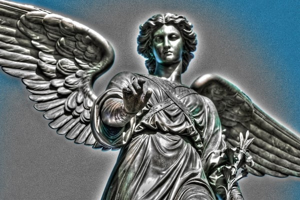 bethesda angel of New York's Central Park