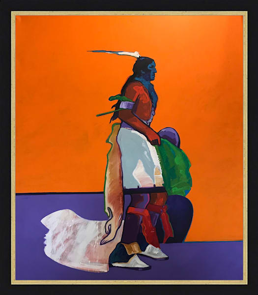 Pueblo Corn Dancer | John Nieto Original Painting