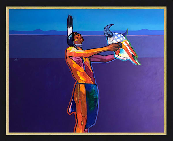 Offering to the Great Spirit | John Nieto Original Painting