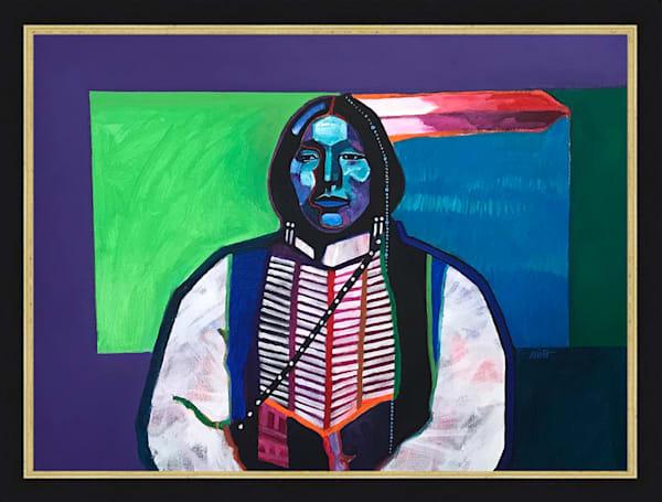 Kiowa Apache | John Nieto Original Painting