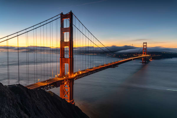 Golden Gate at Dawn