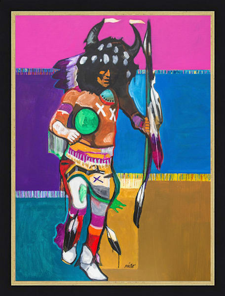Buffalo Dancer II | John Nieto Original Painting
