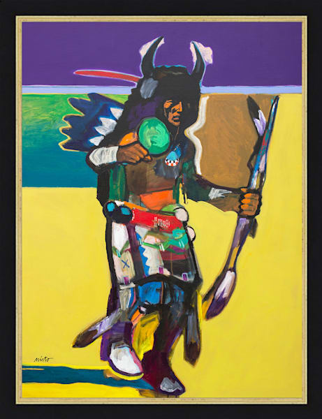 Buffalo Dancer III | John Nieto Original Painting