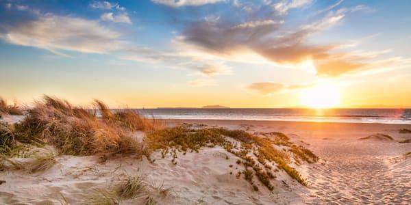 Seaside Sunset Wrap Canvas