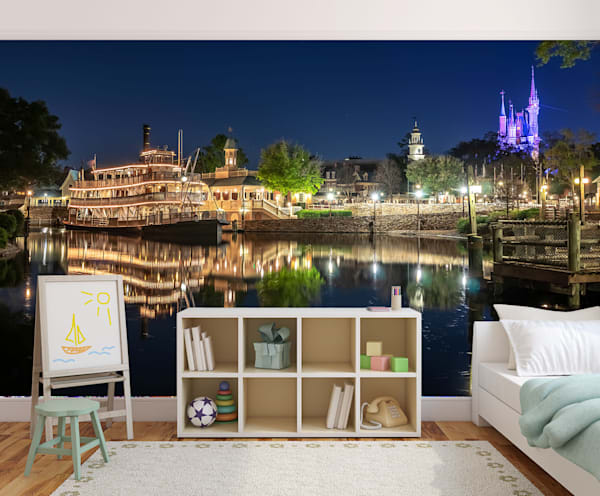 Magic Kingdom Reflections - Disney Wall Murals | William Drew