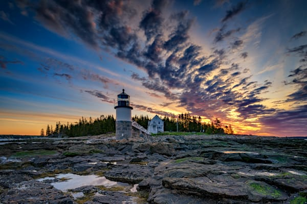 Sunrise at Low Tide at Marshall Point by Rick Berk