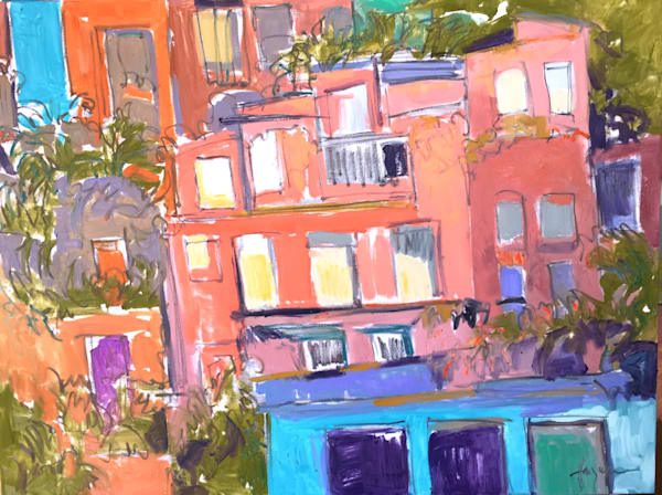 Contemporary Architecture Paintings, Fine Art Prints by Dorothy Fagan