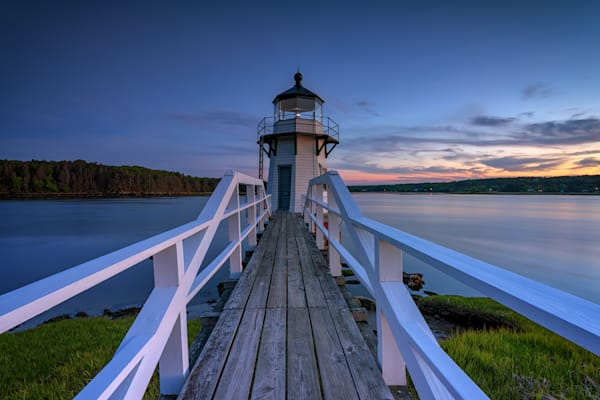 Doubling Point at Blue Hour by Rick Berk