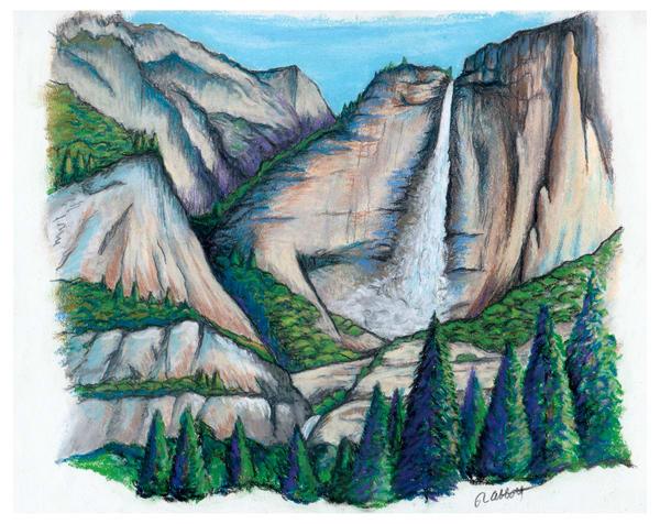 Tranquil Roar - Yosemite Falls