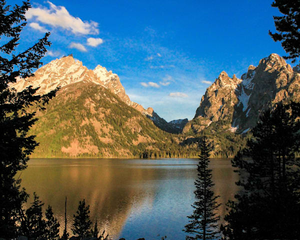 Grand Teton Morning - Jenny Lake