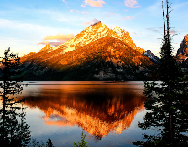 Jenny Lake Sunrise - Grand Teton National Park