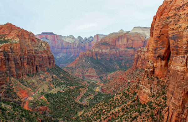 Canyon Overlook - Zion National Park
