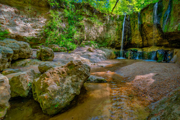 Tunica Hills waterfall photography