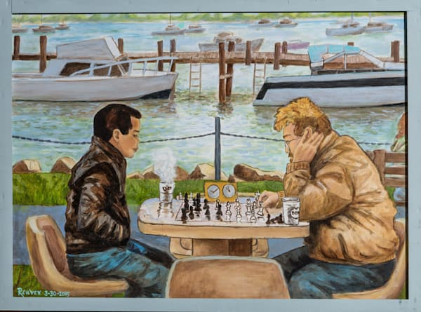 Chessmen - Northport Harbor