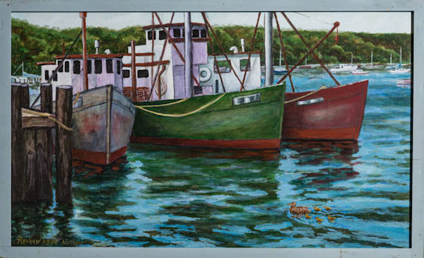Northport Harbor Art | East End Arts