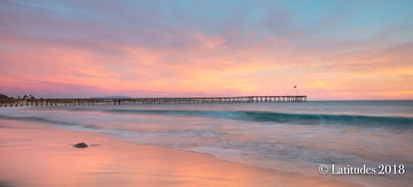 """Pastel Morning at the Pier"""