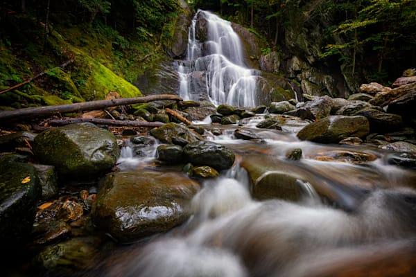 Granville's Moss Glen Falls by Rick Berk