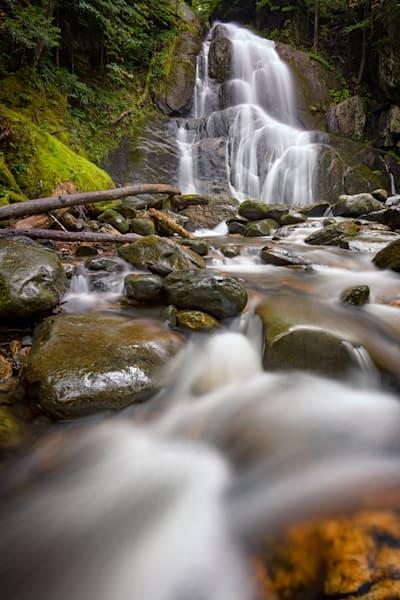 Deer Hollow Brook and Moss Glen Falls by Rick Berk