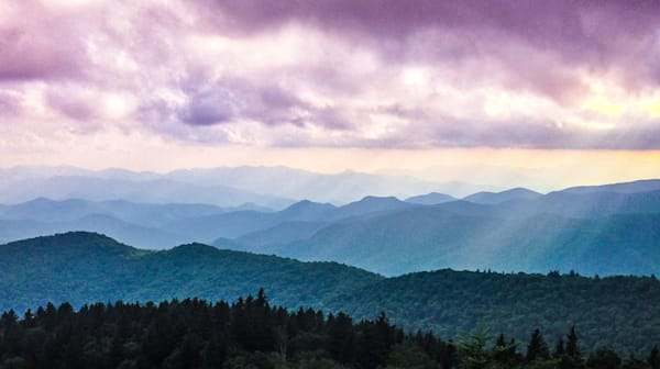 Blue Ridge Mountains Illumination