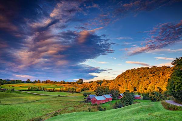 Morning Light on Jenne Farm by Rick Berk