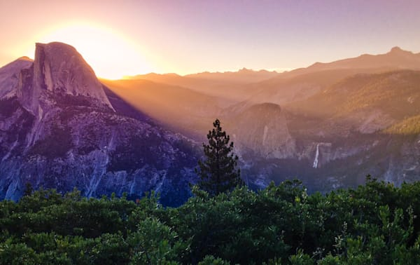 Half Dome Sunrise
