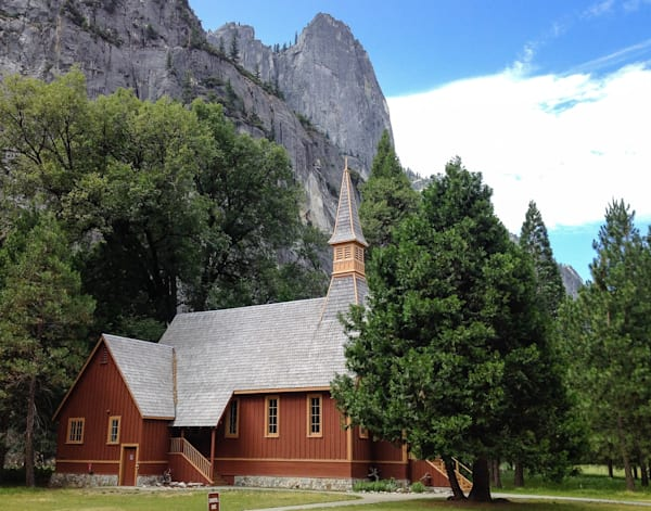 Yosemite Chapel - Yosemite Valley