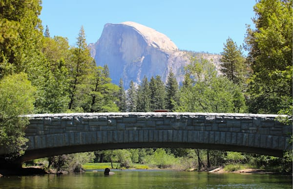 Stoneman Bridge with Half Dome