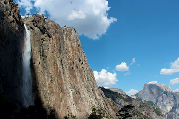 Yosemite Falls & Half Dome - - Mountain Art
