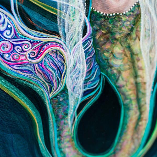 Angel Fritz Art - Blood Moon Goddess Original