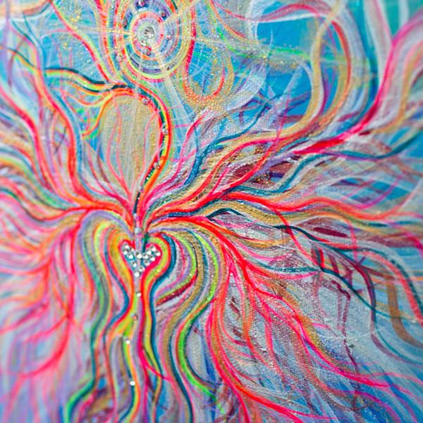 Angel Fritz Art - Soul Star - Original