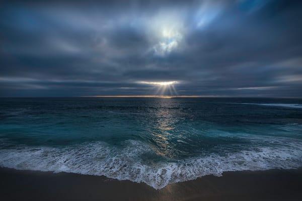 pacific ocean in la jolla beach