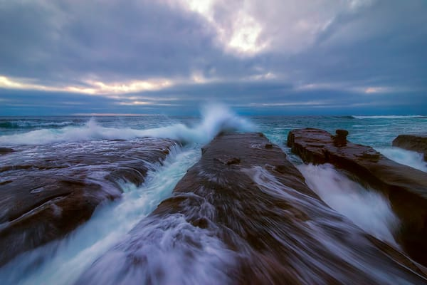 stormy beaches of the pacific