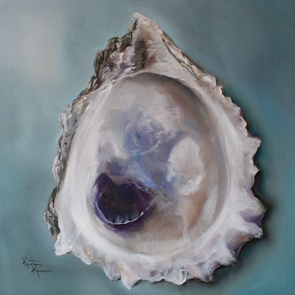 Bay Oyster Shell by Coastal Artist Kristine Kainer