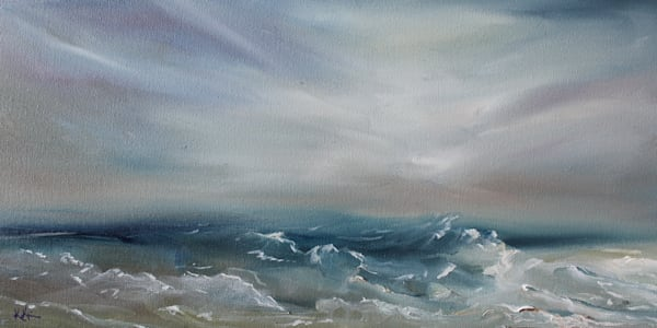 Ocean Waves by Coastal Artist Kristine Kainer