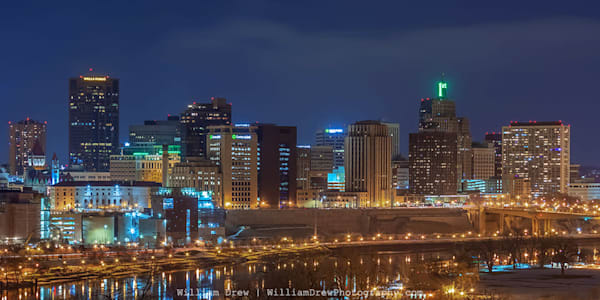 Saint Patricks Day in Saint Paul - Skyline Wall Murals