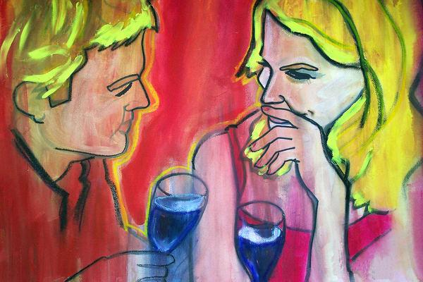 In The Days Of Wine  Art | William K. Stidham - heART Art