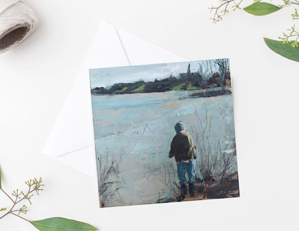 Maumee River Fisherman Notecards