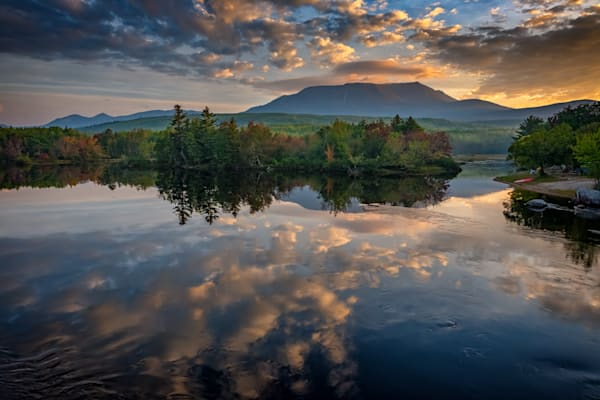 Sunrise on Mount Katahdin by Rick Berk