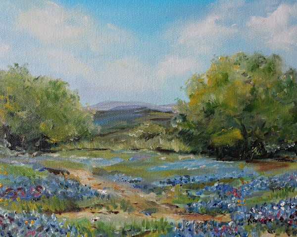 Hill Country Bluebonnets