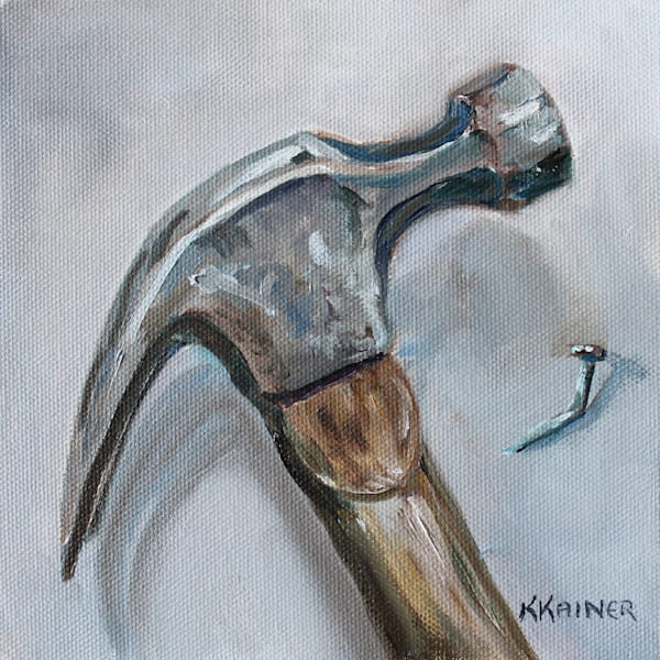 Hammer and Nail by Artist Kristine Kainer