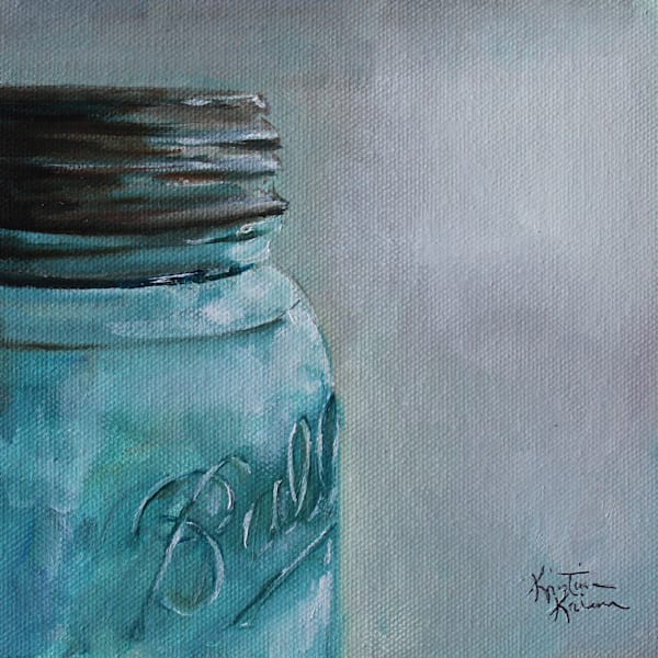 Blue Ball Jar