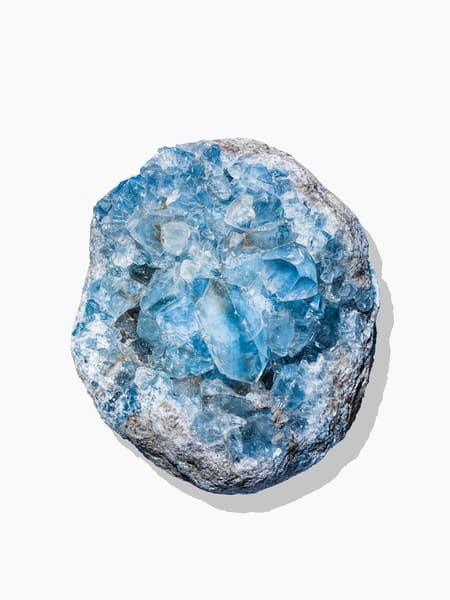 Timothy Hogan Blue Geode 2
